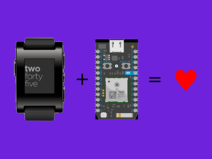 Control your Particle Photon from a Pebble smartwatch – Hackster.io