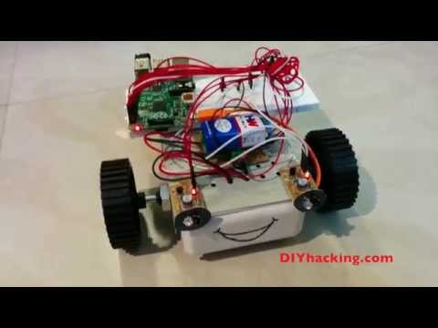 Raspberry Pi Obstacle Avoiding Robot – YouTube
