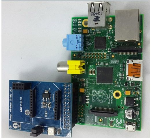 A novel design for raspberry pi wireless shield extension board
