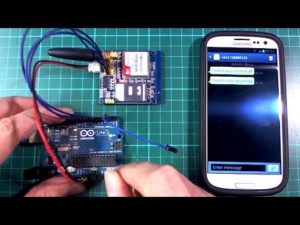 Arduino + GSM module (SMS message, HTTP requests) – YouTube