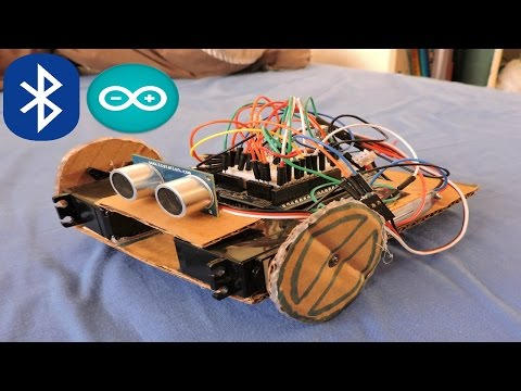 Arduino: How To Build a Bluetooth Robot – YouTube