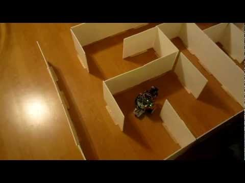 Arduino maze-solver and wall-follower robot – YouTube