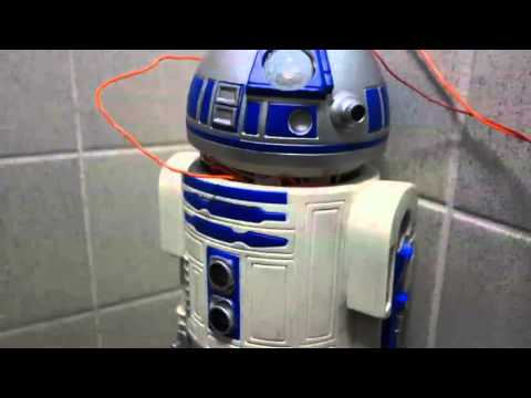 Arduino powered R2-D2 Air Freshener – YouTube
