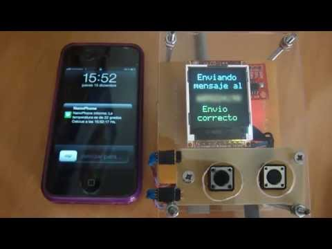 Arduino Project NanoPhone Sending SMS – YouTube