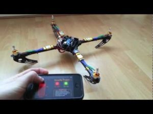 Arduino Quadcopter – Phase 2 (Mobile Control) – YouTube