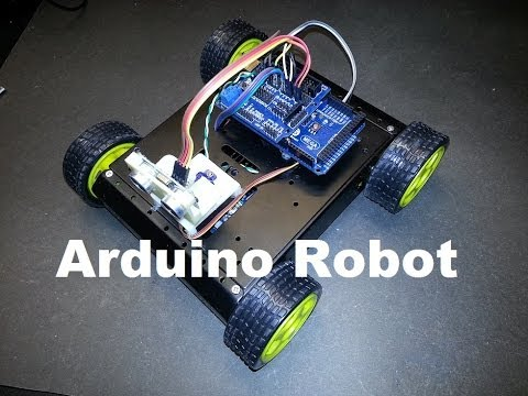 Arduino SainSmart 4WD Robot Update- Code Modifications – YouTube