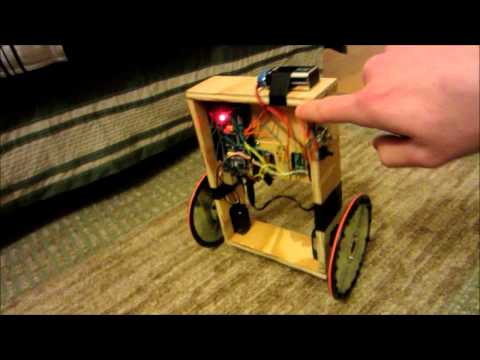 Arduino self balancing robot – YouTube