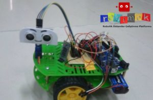 Arduino Speech Control and Detect Obstacles Robot  – All
