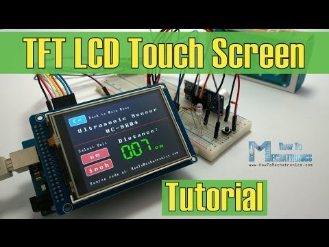 Arduino TFT LCD Touch Screen Tutorial – YouTube