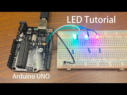 rgb light wiring diagram arduino tutorial led sequential control beginner project  arduino tutorial led sequential control beginner project