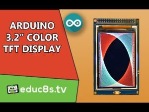 Arduino Tutorial: Using the 3.2″ Color TFT display for Arduino from Banggood.com – Y ...