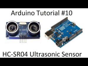 Arduino #10 – Ultrasonic HC-SR04 Range Sensor – Robotics Arduino Tutorial – Yo ...