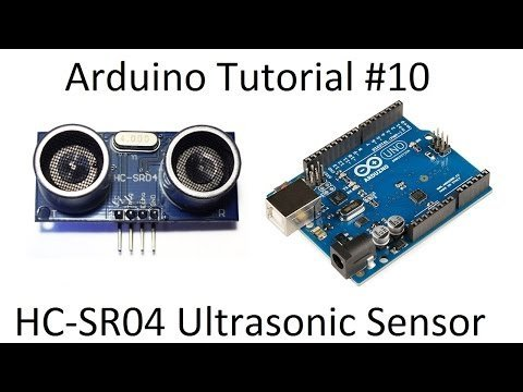 Arduino #10 – Ultrasonic HC-SR04 Range Sensor – Robotics Arduino Tutorial – YouTube