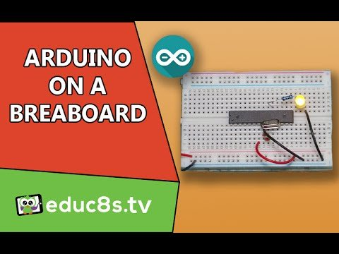 Arduino Uno (ATMEGA328P) on a breadboard Tutorial DIY project. Easy guide. – YouTube