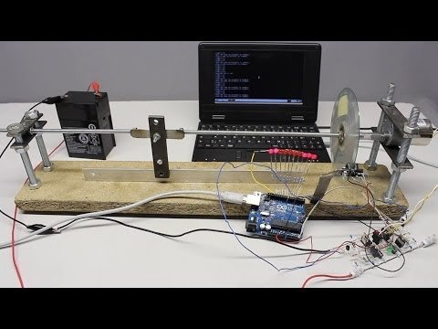 Arduino Uno: control circuits and homebuilt servos – YouTube