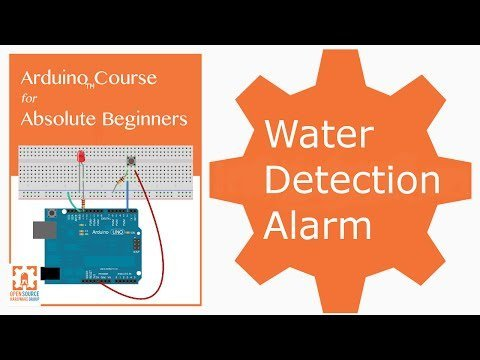 Arduino Water Detection Alarm Project – YouTube