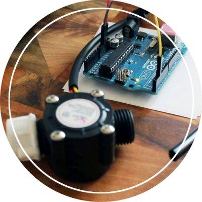 Arduino Water Flow Sensors