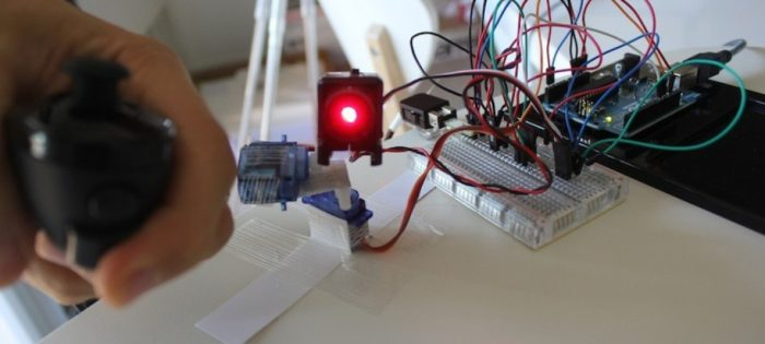 Arduino + WiiChuck steered laser pointer – Maks Surguy's blog on PHP and Laravel