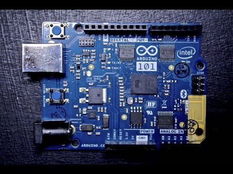 Arduino 101 w/Intel Curie Thoughts? Hardware Walkthrough! p1 – YouTube