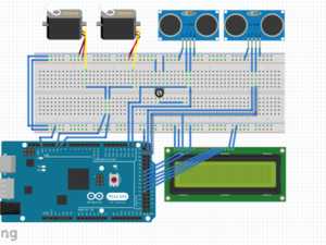 Automatic Door and Counter Prototype – Hackster.io