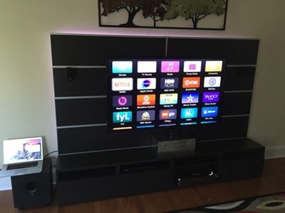 Awesome LED Entertainment Center – Hackster.io