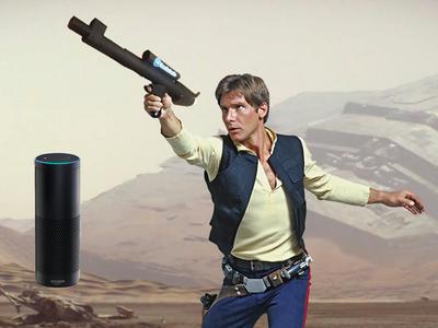 Blaster with AWS Alexa Voice Control & IR Firing Power – Hackster.io