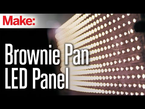 Brownie Pan LED Panel – YouTube