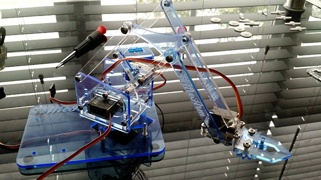 Build a kickass robot arm the perfect arduino project for