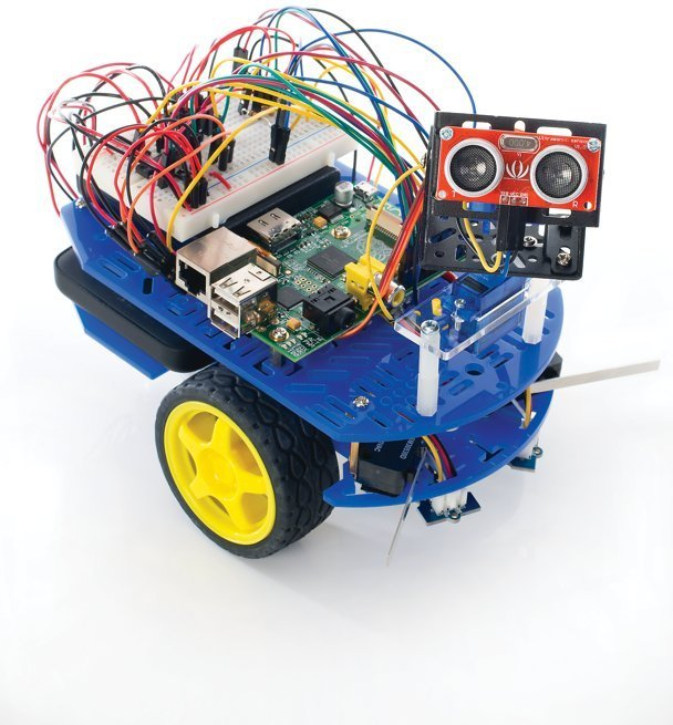 Build a Raspberry Pi robot with Linux User issue 132 | Linux User & Developer – the Li ...