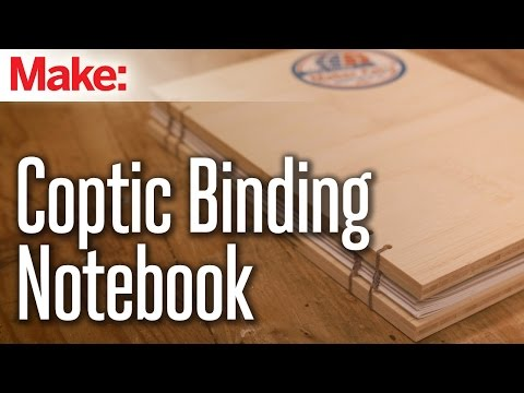 Build this Sturdy Notebook Using an Ancient Bookbinding Method – YouTube