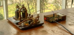 Century-Old 'Key On Board' Morse Code Set Auto-Translates with #RaspberryPi #morsecode « Adafrui ...