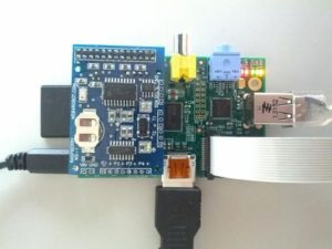 Checking the weather with the Wolfram Language + Raspberry Pi (Author: Arnoud Buzing)