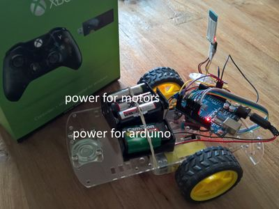 Control Arduino Rover using Firmata and Xbox One Controller – Hackster.io