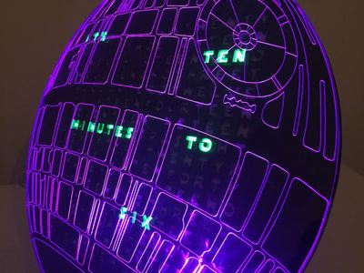 Death Star word clock – Hackster.io