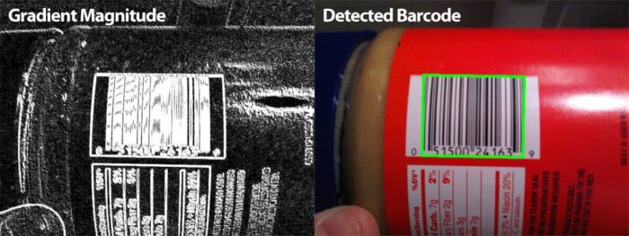 Detecting Barcodes in Images with Python and OpenCV – PyImageSearch