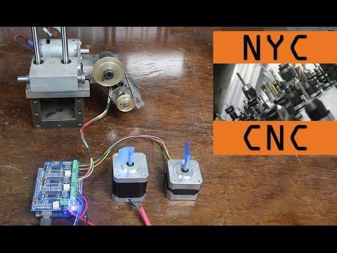 DIY Arduino CNC Machine with GRBL Shield – Setup Tutorial! – YouTube