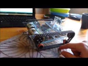 DIY Arduino Robot walkthrough, specs + code – YouTube