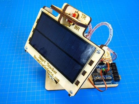 Dual Axis Solar Tracker – DIY Arduino Powered – YouTube