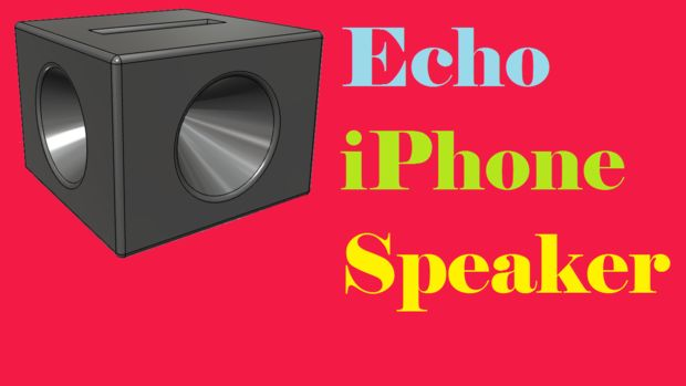 Echo iPhone Speaker