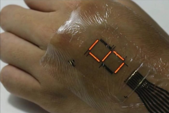 Electronic 'Tattoo' Transforms Skin Into a Screen