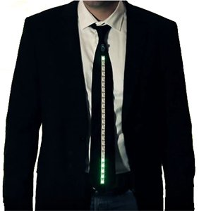 If you attended Maker Faire Rome 2015, you may have noticed some smart wearable dress ties power ...