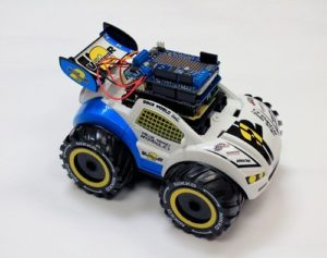 If you attended Maker Faire Rome 2015, you may have noticed some toy cars powered by Arduino* 10 ...