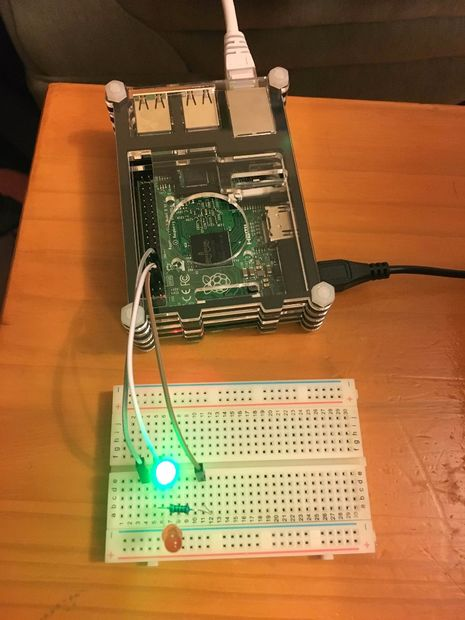 Flashing LEDs with Raspberry Pi – All
