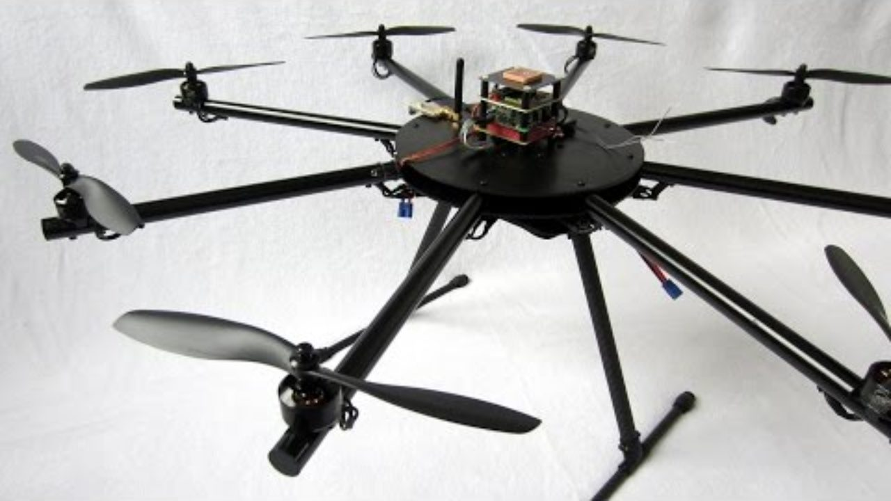 From a diy Arduino quadcopter to a versatile octocopter