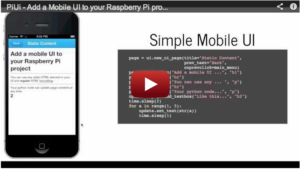 GitHub – dps/piui: Add a UI to your standalone Raspberry Pi project using your Android phone