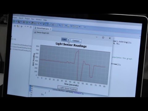 Graph Arduino Sensor Data with Java and JFreeChart – YouTube