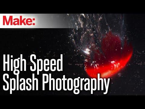 High-Speed Splash Photography – YouTube