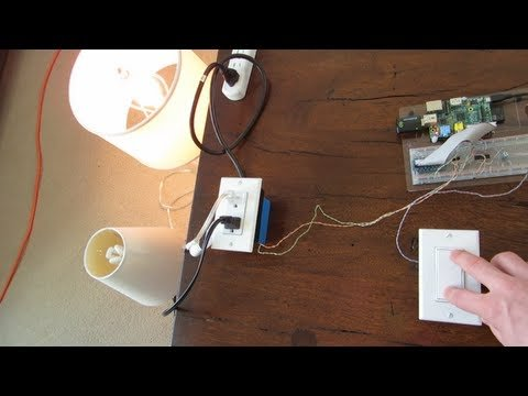 Home Automation with the Raspberry Pi and Node.js – Well Tempered Hacker – YouTube