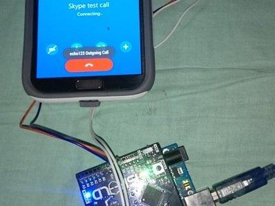 Home surveillance system using skype calls – Hackster.io