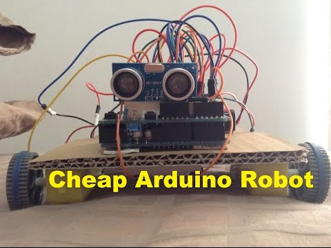 How To Make A Cheap Arduino Robot – YouTube